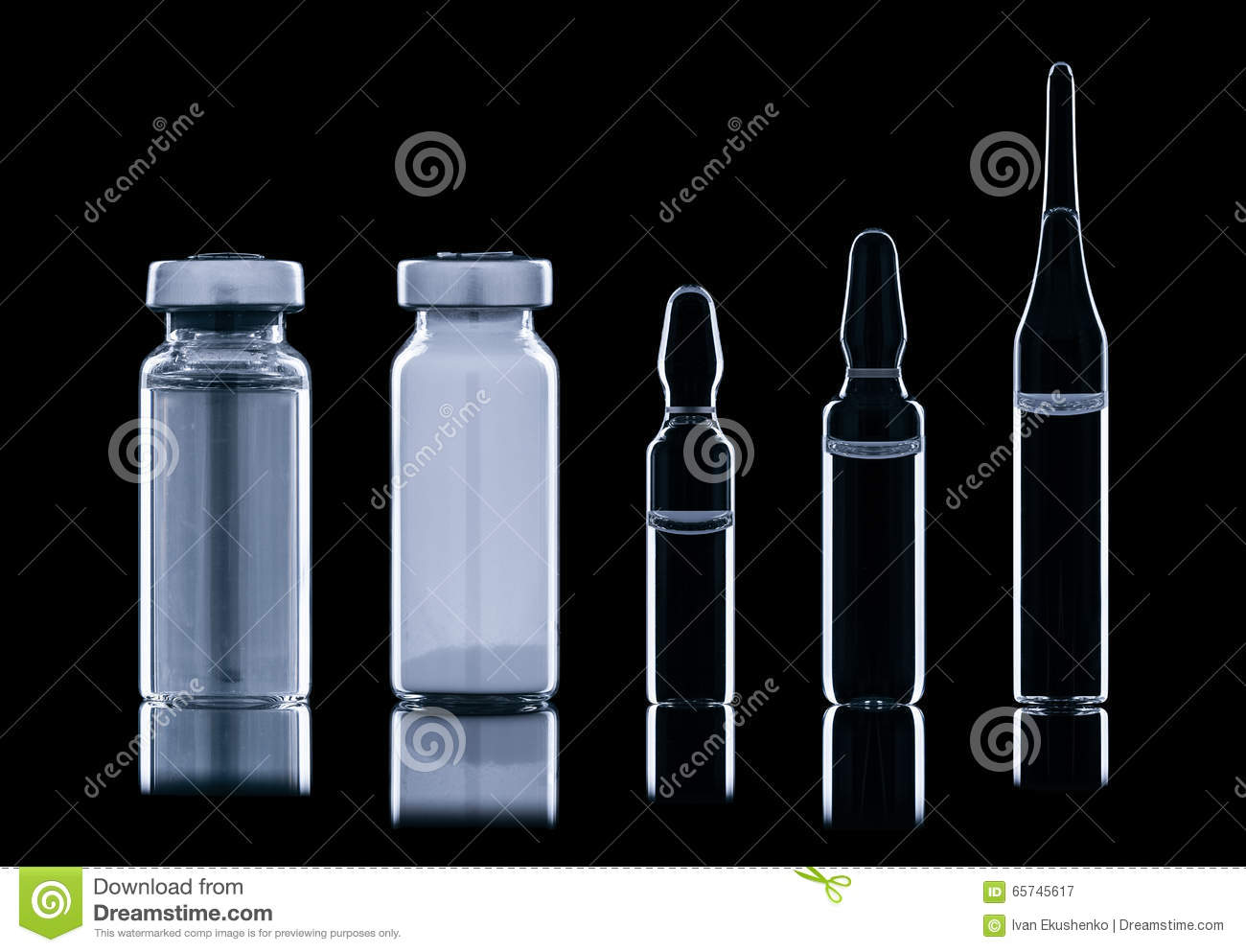 Different ampoule with liquid stock image image 65745617 - Different type d ampoule ...