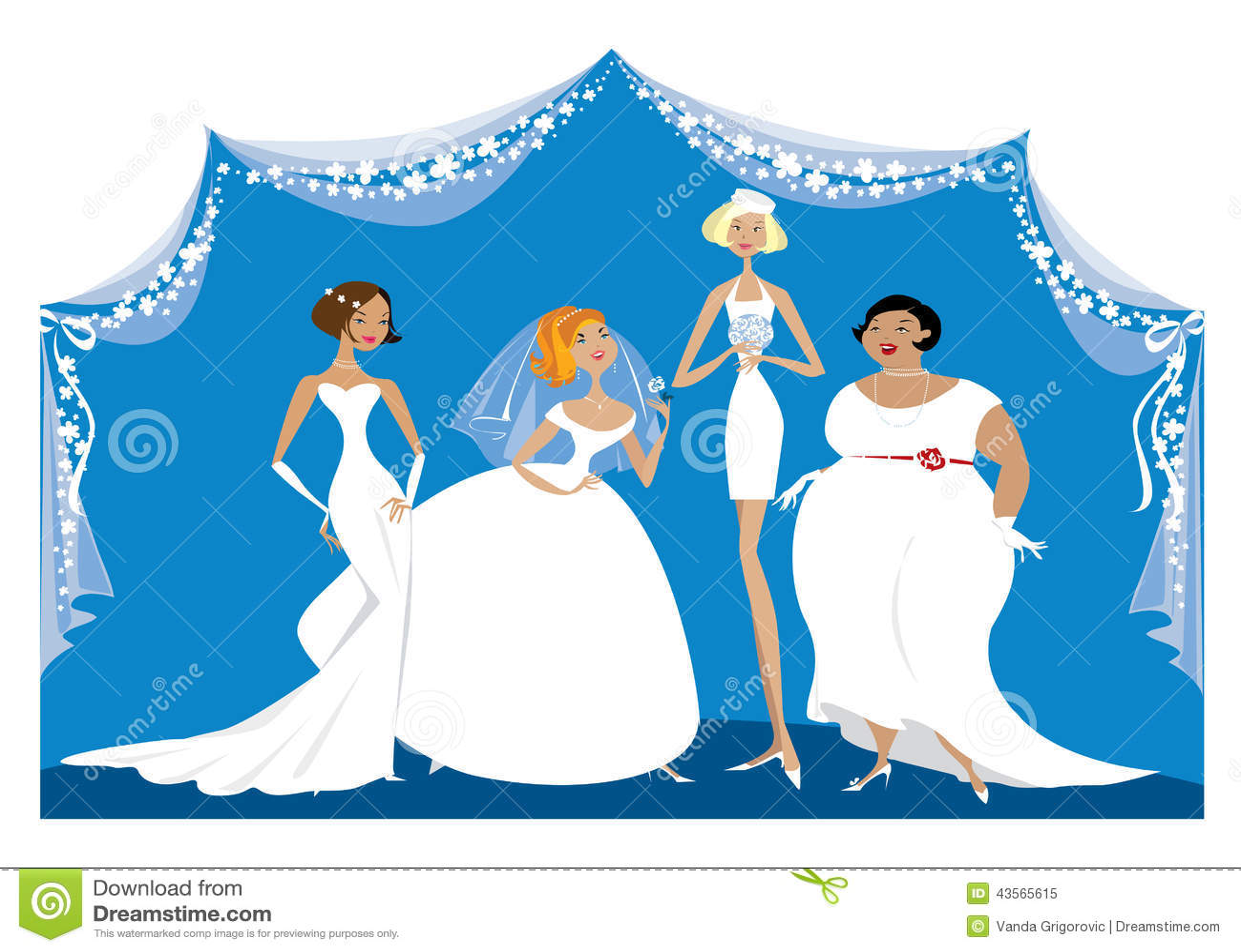 Different brides