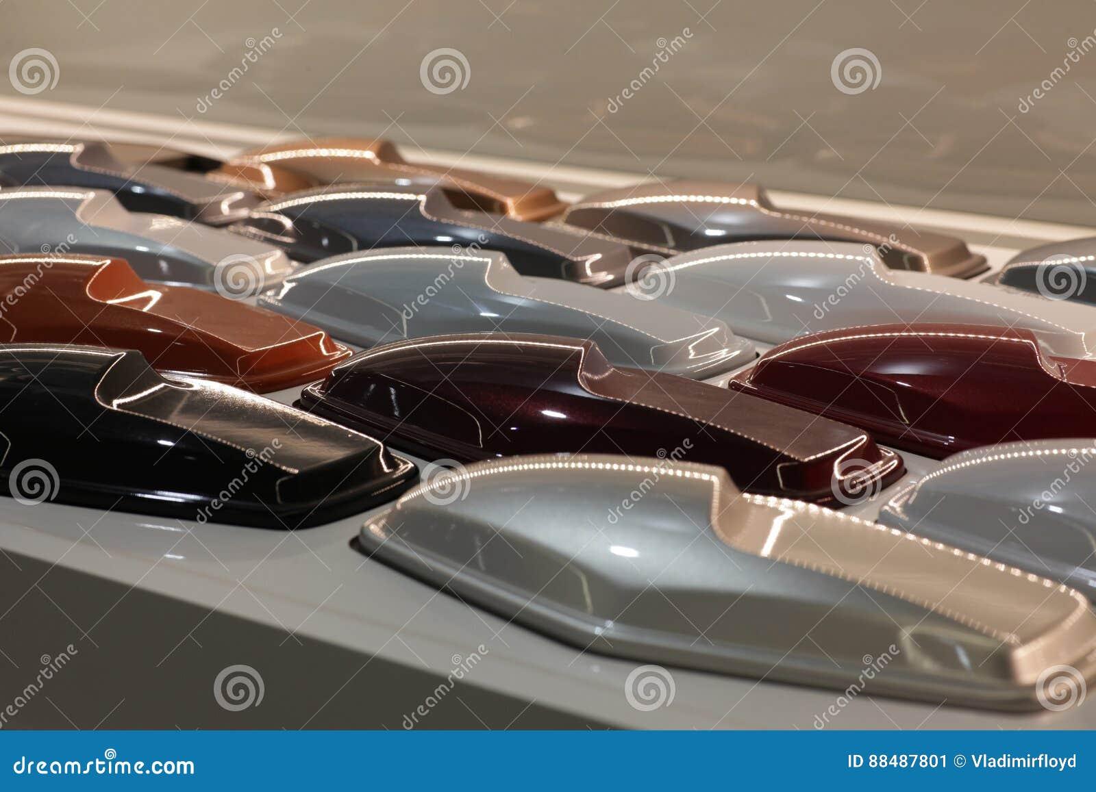 Different car colors