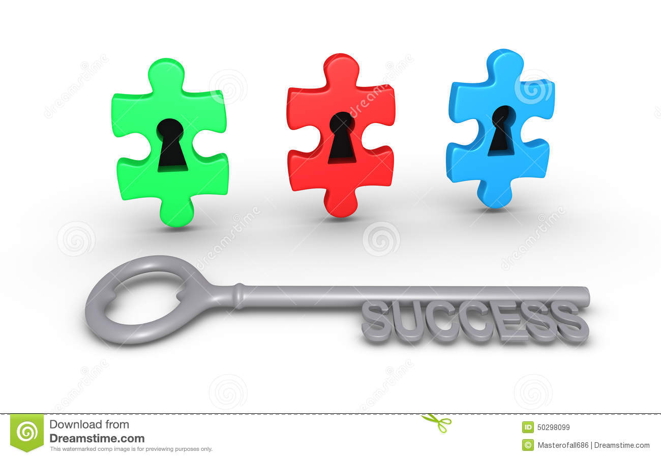 Different Choices For Success Stock Illustration ...