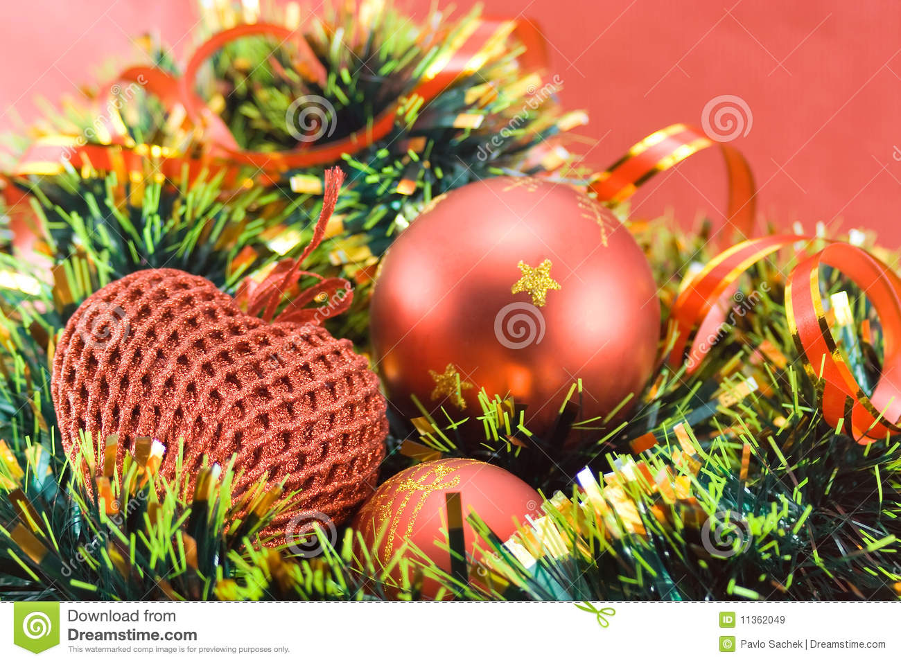 Different christmas decorations royalty free stock images for Different christmas decorations