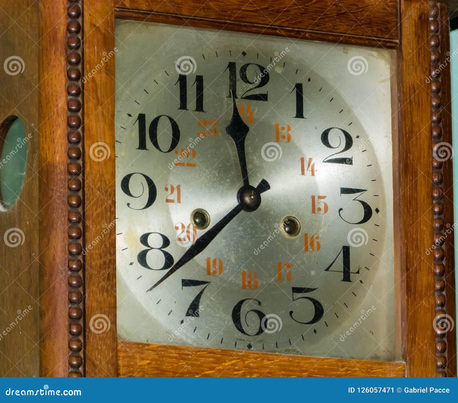 Old clock, refurbished
