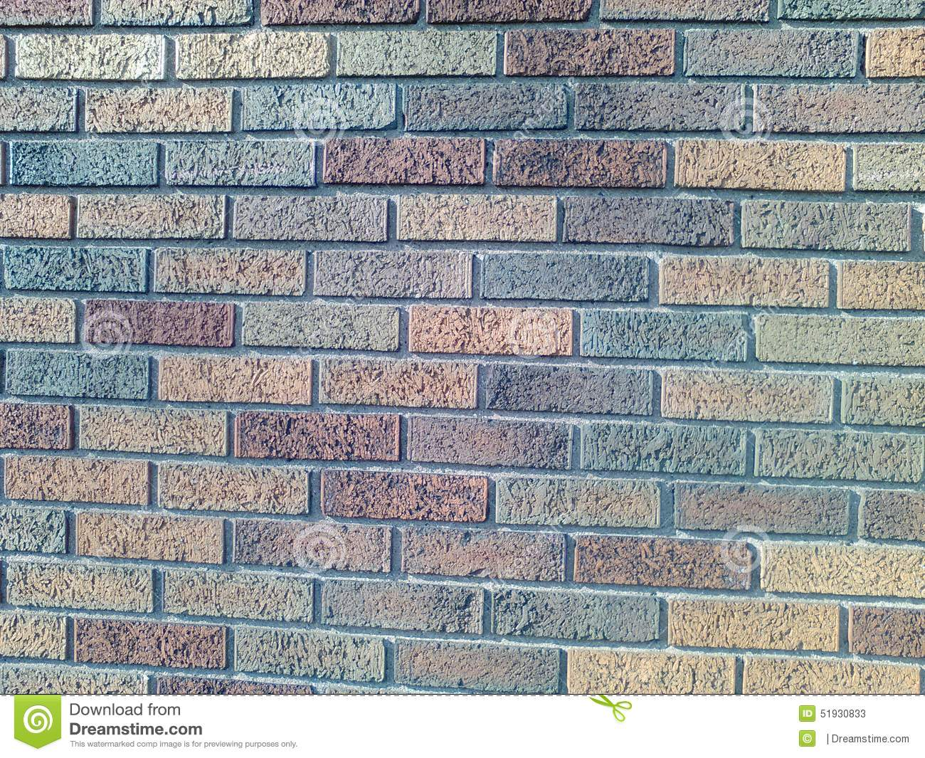 different color bricks at it s best stock image image of brick
