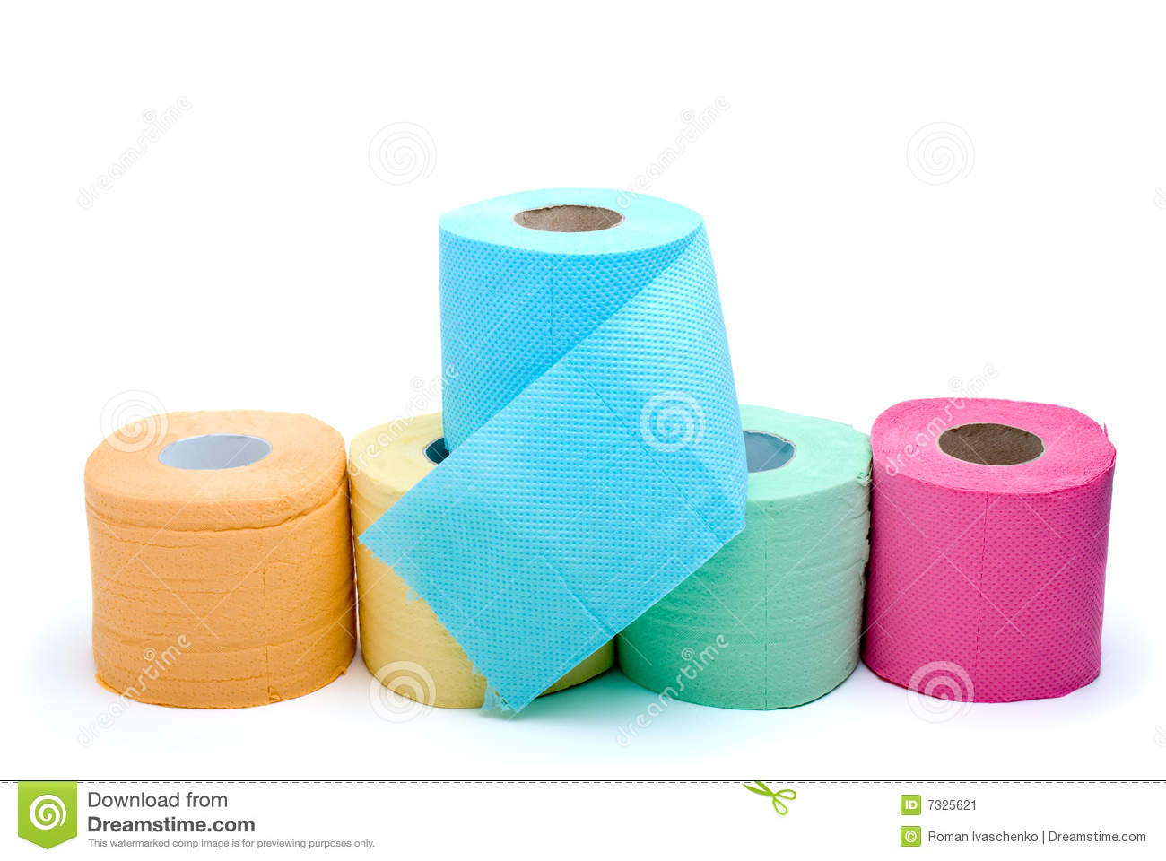 More similar stock images of ` Different colored toilet paper `