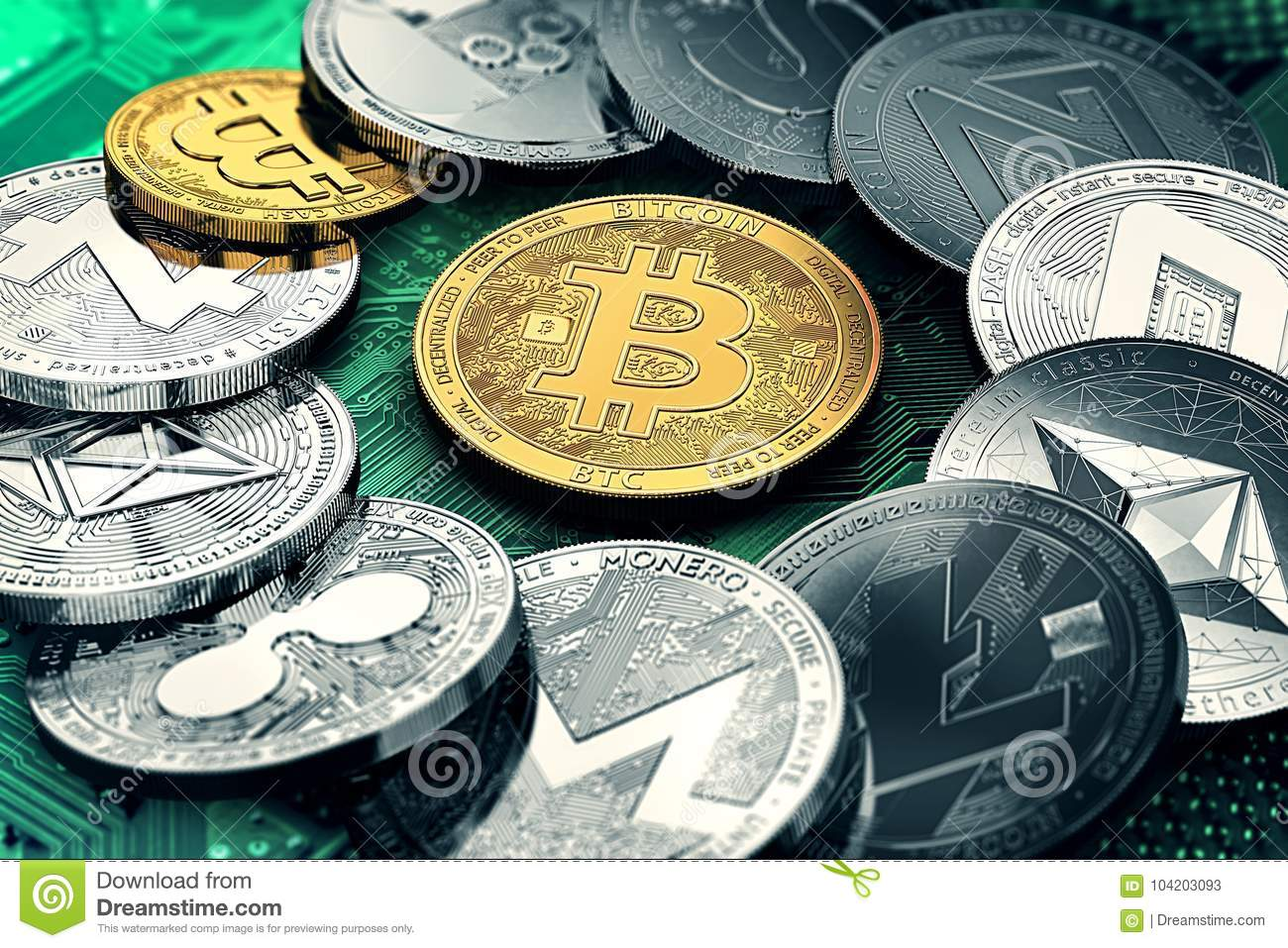 10 most valuable cryptocurrencies