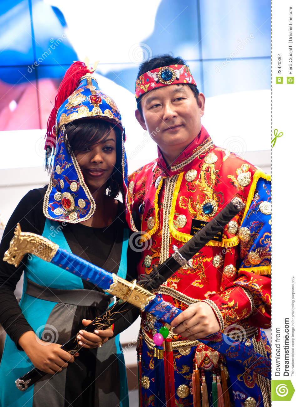 Different Cultures At BIT 2012 Editorial Photography ...
