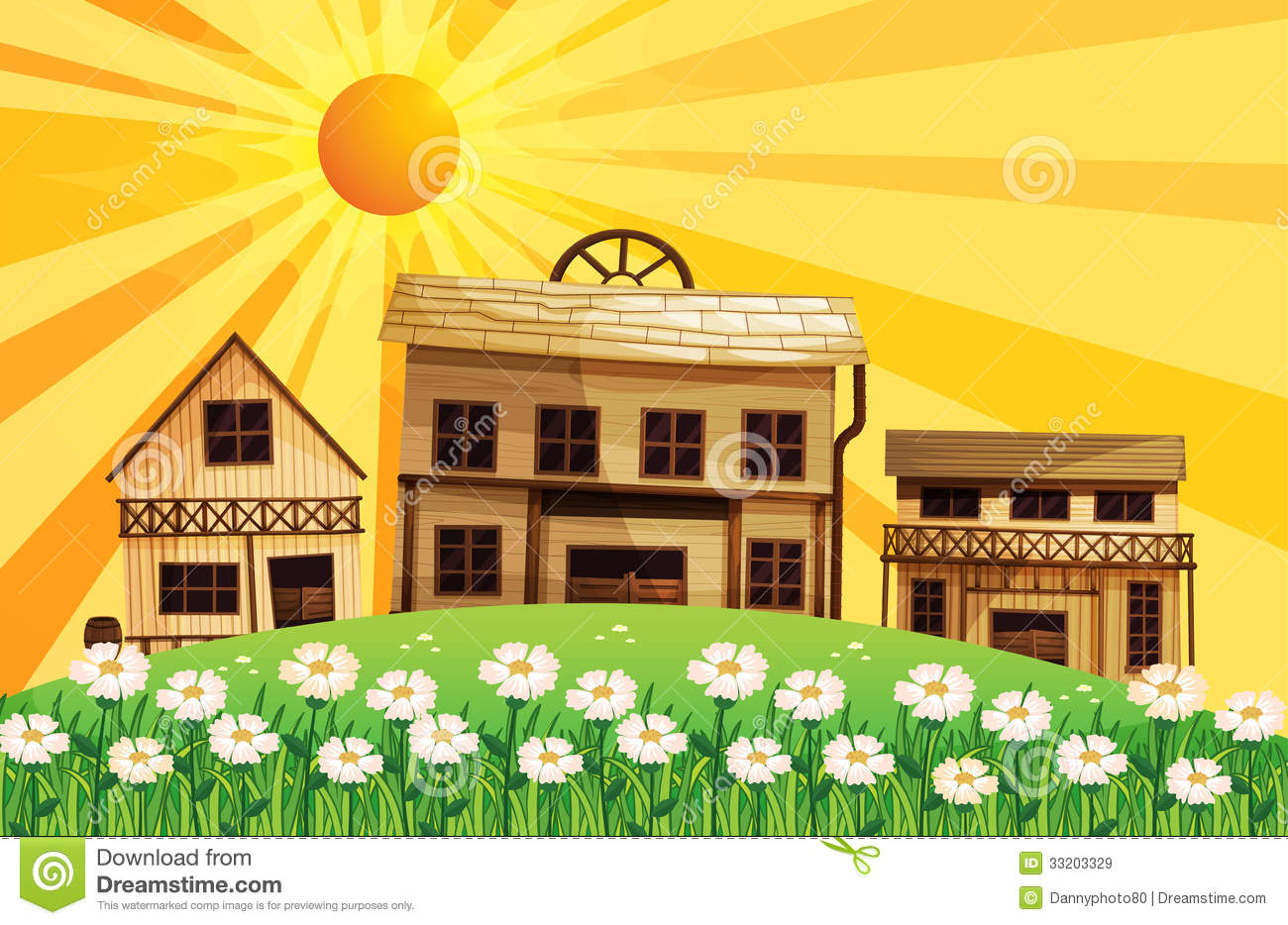 Different Designs Of Houses Royalty Free Stock Images