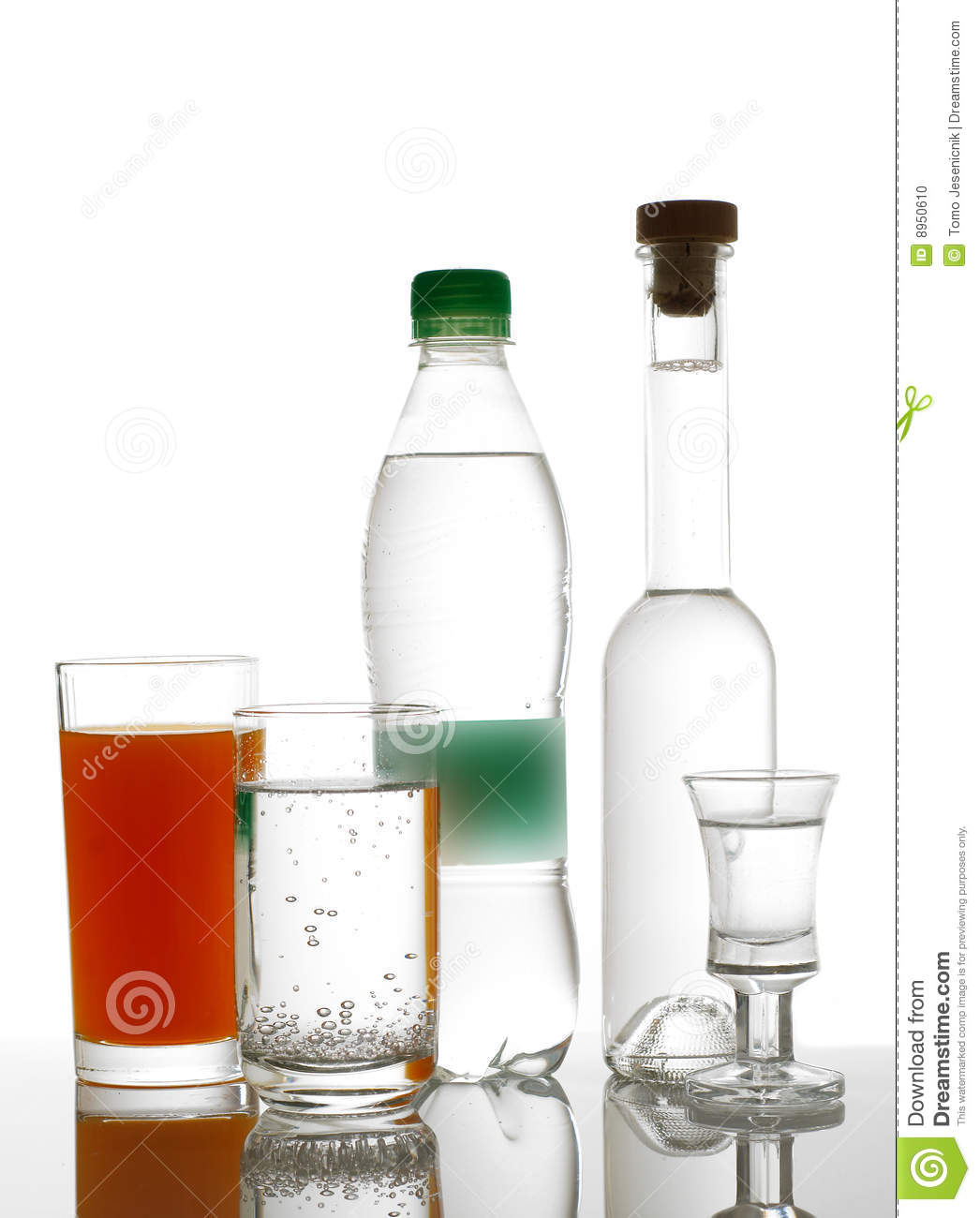 Different Drinks Stock Photo. Image Of Alcohol, Shape