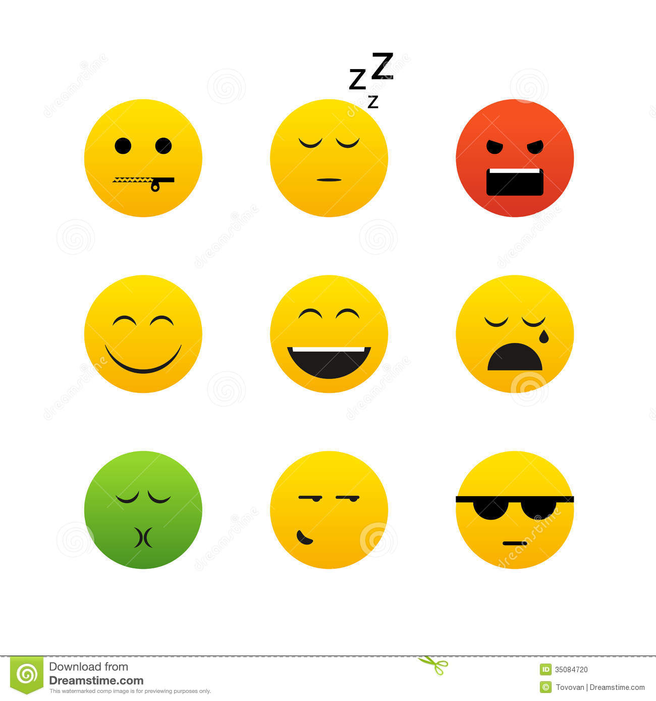 Worksheets Emotion Faces different emotion faces stock photo image 35084720 faces