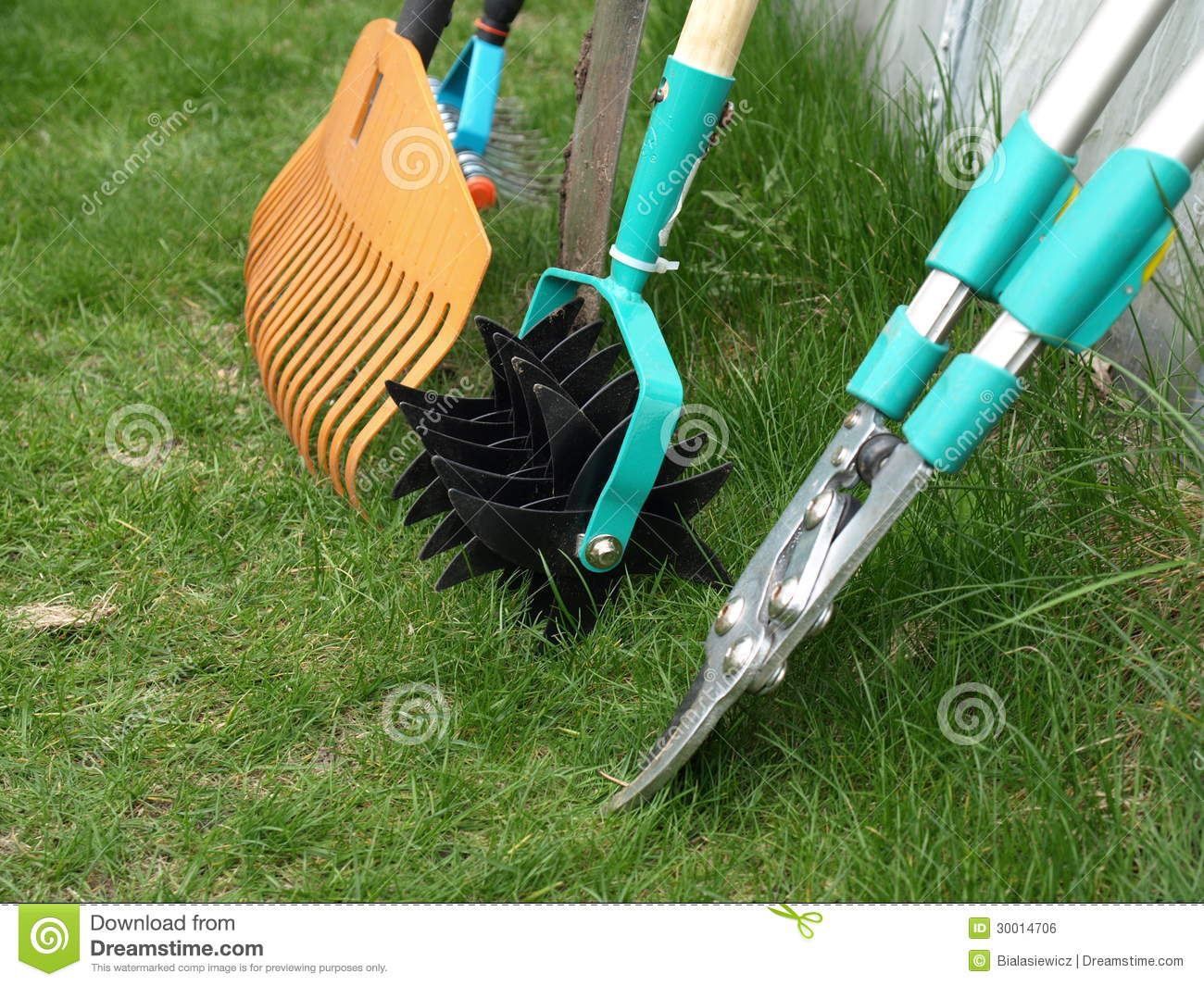 Garden tools royalty free stock image image 30014706 for The works garden tools