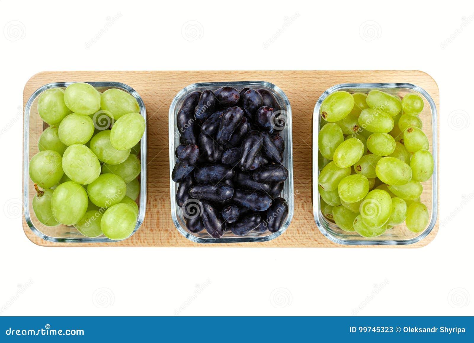 Different grape varieties