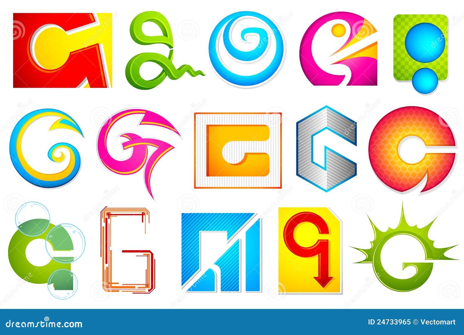 P Alphabet Wallpaper Stylish Font Different Icon with alphabet G