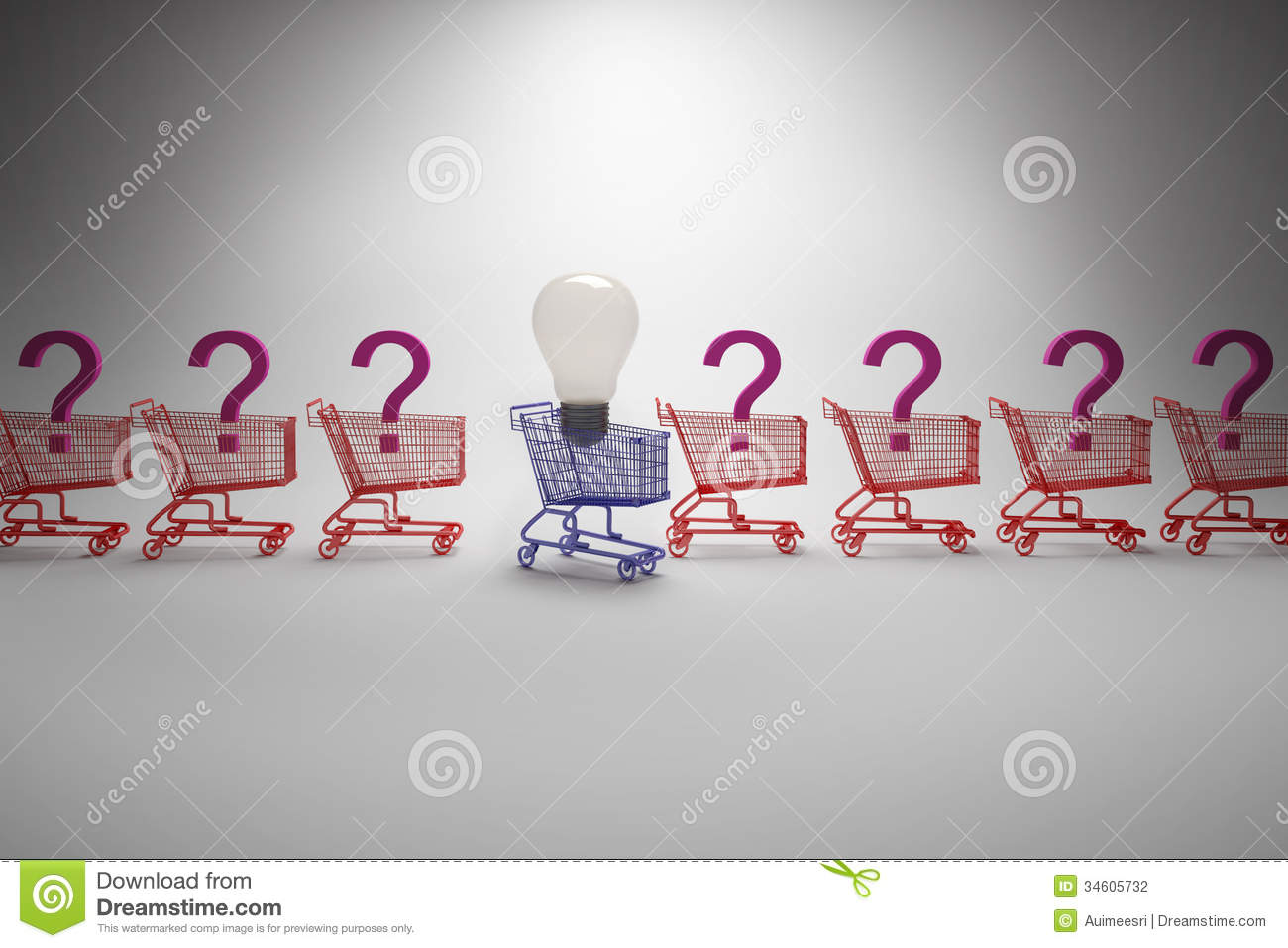 Different Ideas In Competition Concept Stock Photography - Image ...
