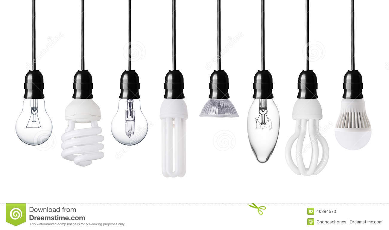 Different Light Bulbs Stock Image Image Of Bulbs Economical 40884573
