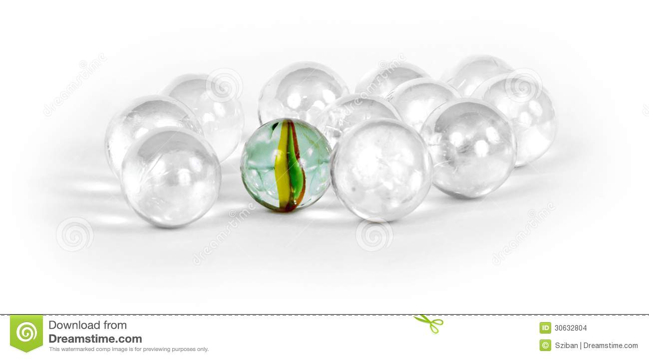 Single Colored Marbles : Different marbles stock images image