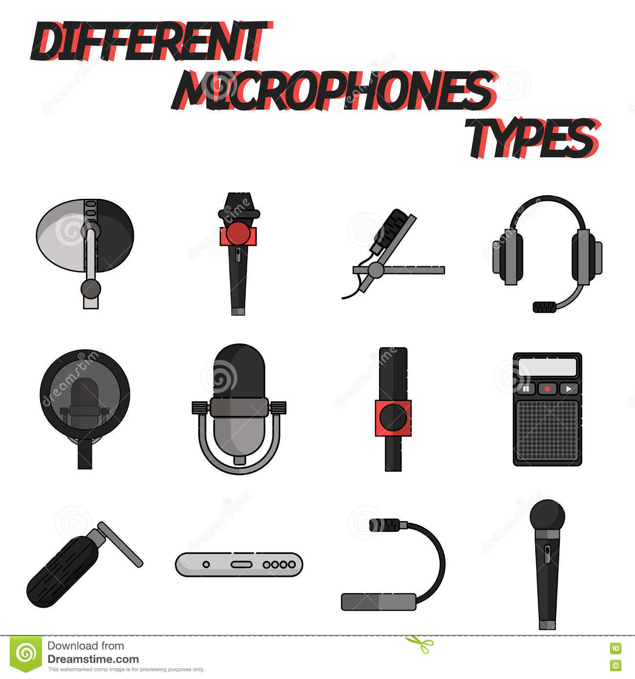 The Different Types Of Mics And Their Uses