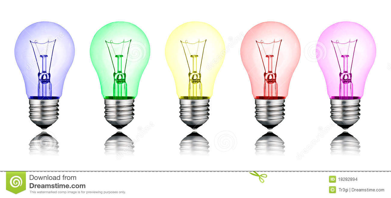 different new ideas row of colored lightbulbs stock illustration illustration of lightbulb. Black Bedroom Furniture Sets. Home Design Ideas