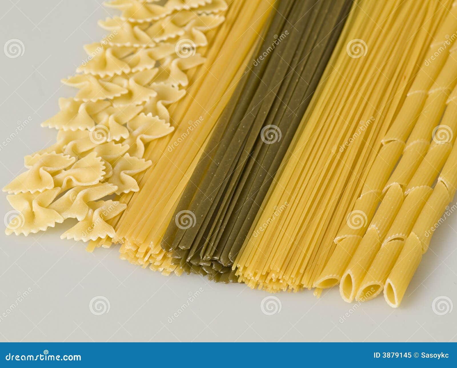 Healthy pasta types