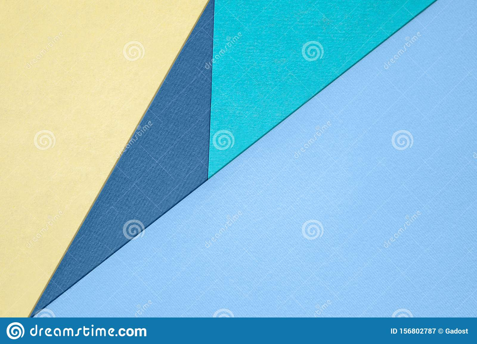 Different pastel colored paper backgrounds with place for text