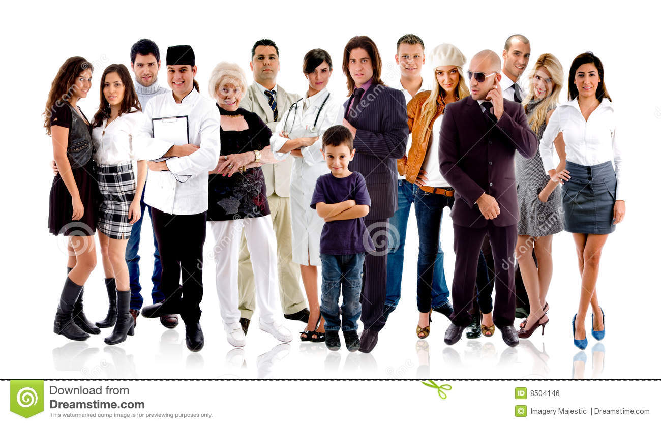 Different People Royalty Free Stock Image Image 8504146