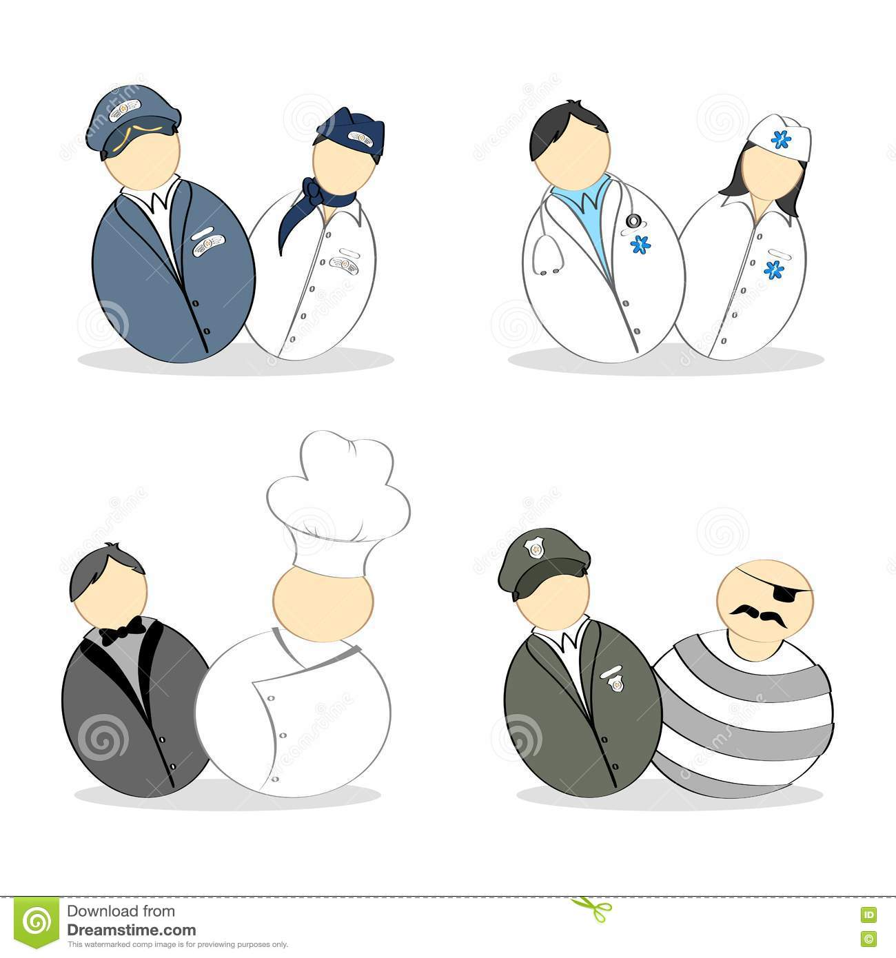 Different profession