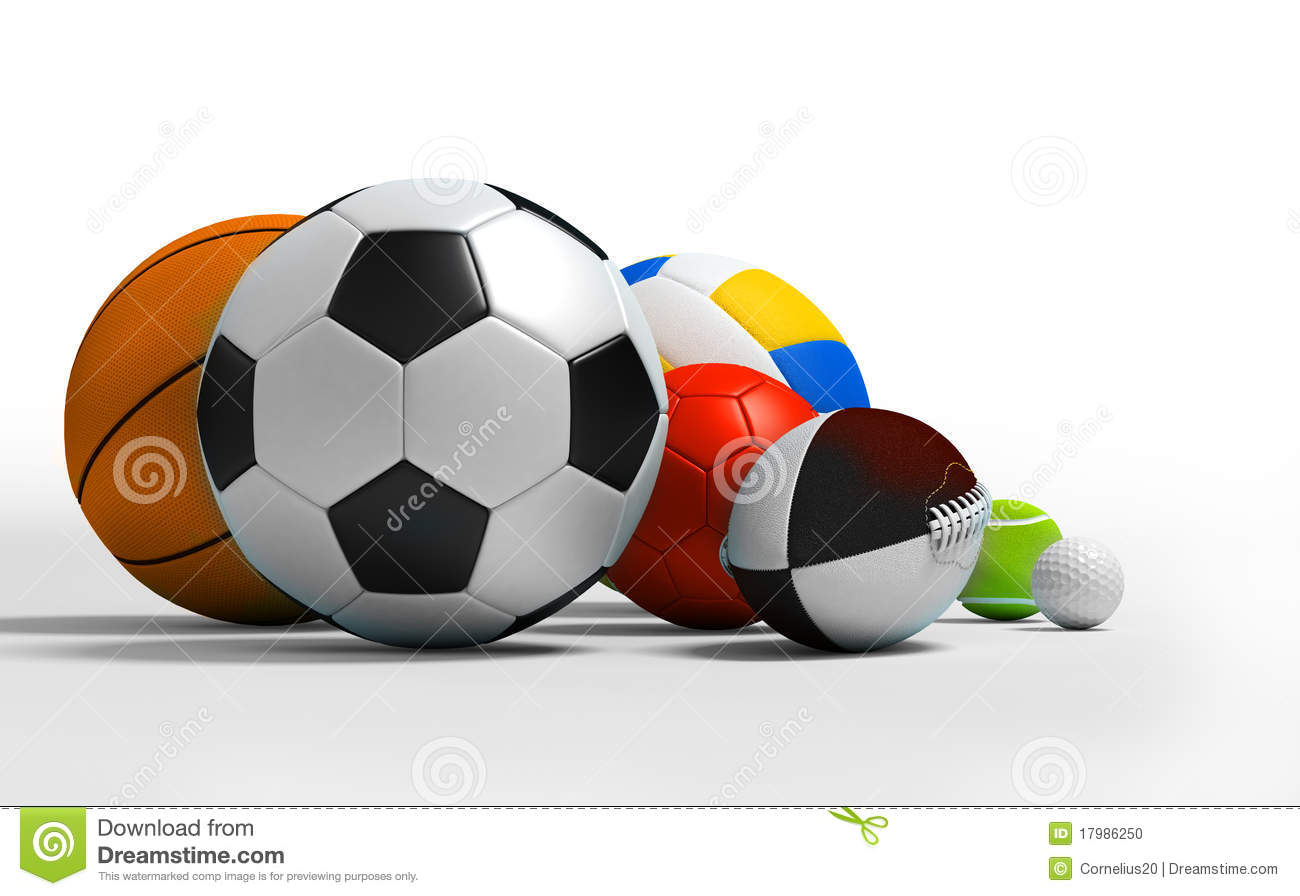 Different Sport Balls Stock Photo - Image: 17986250
