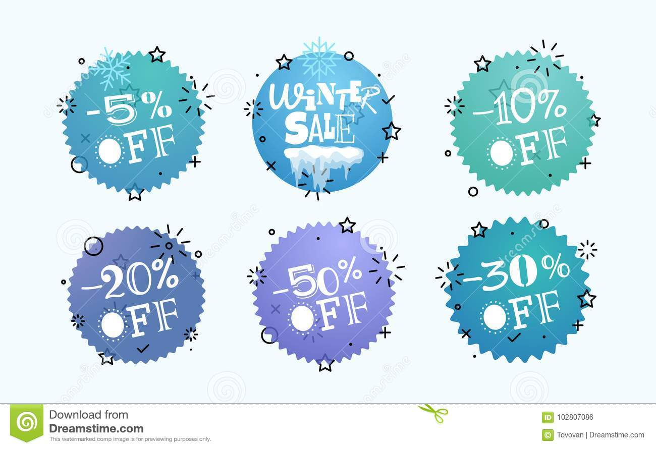 Winter Sale Banners Extra Large Banners