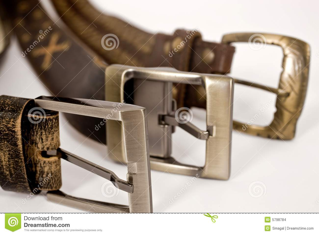 Different types of buckles