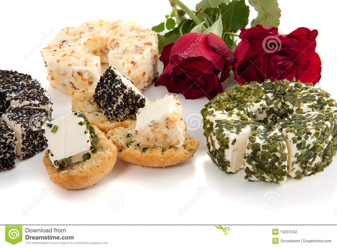 Different Cheese Stock Photography