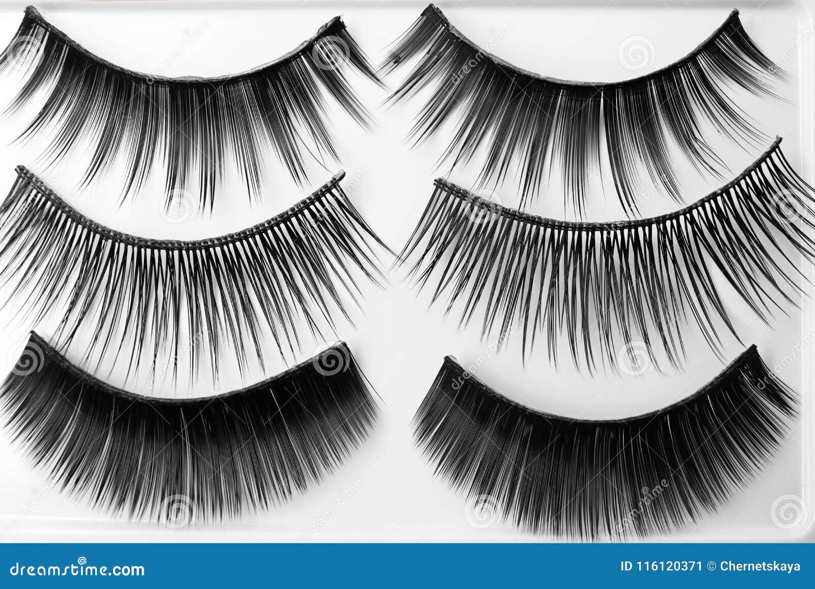 Different Types Of False Eyelashes Stock Image Image Of Cosmetic