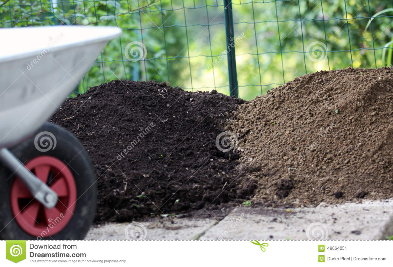 Different types of garden soil stock photo image 49064051 for Different uses of soil