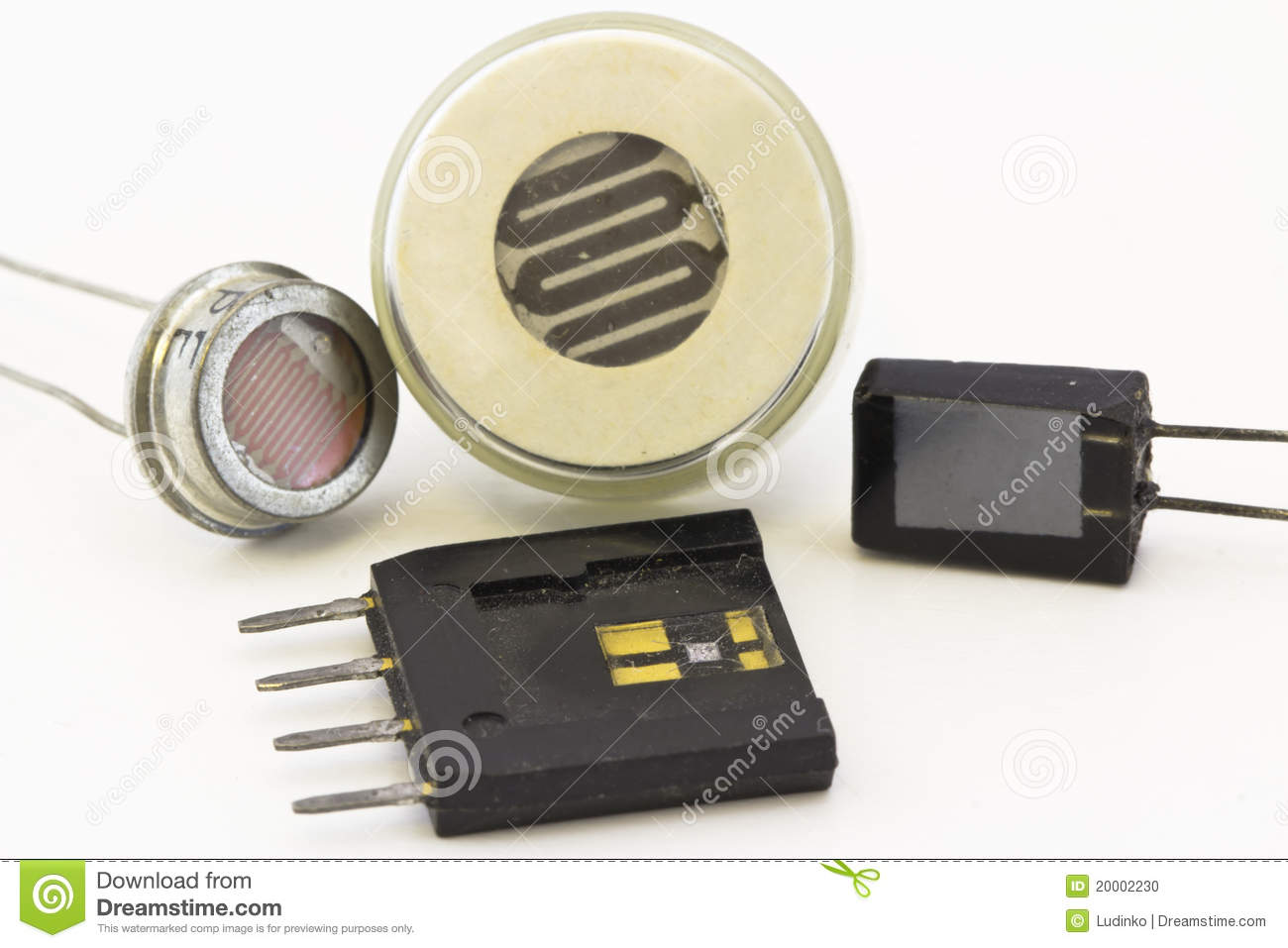 Different Types Of Sensors Stock Photo Image 20002230