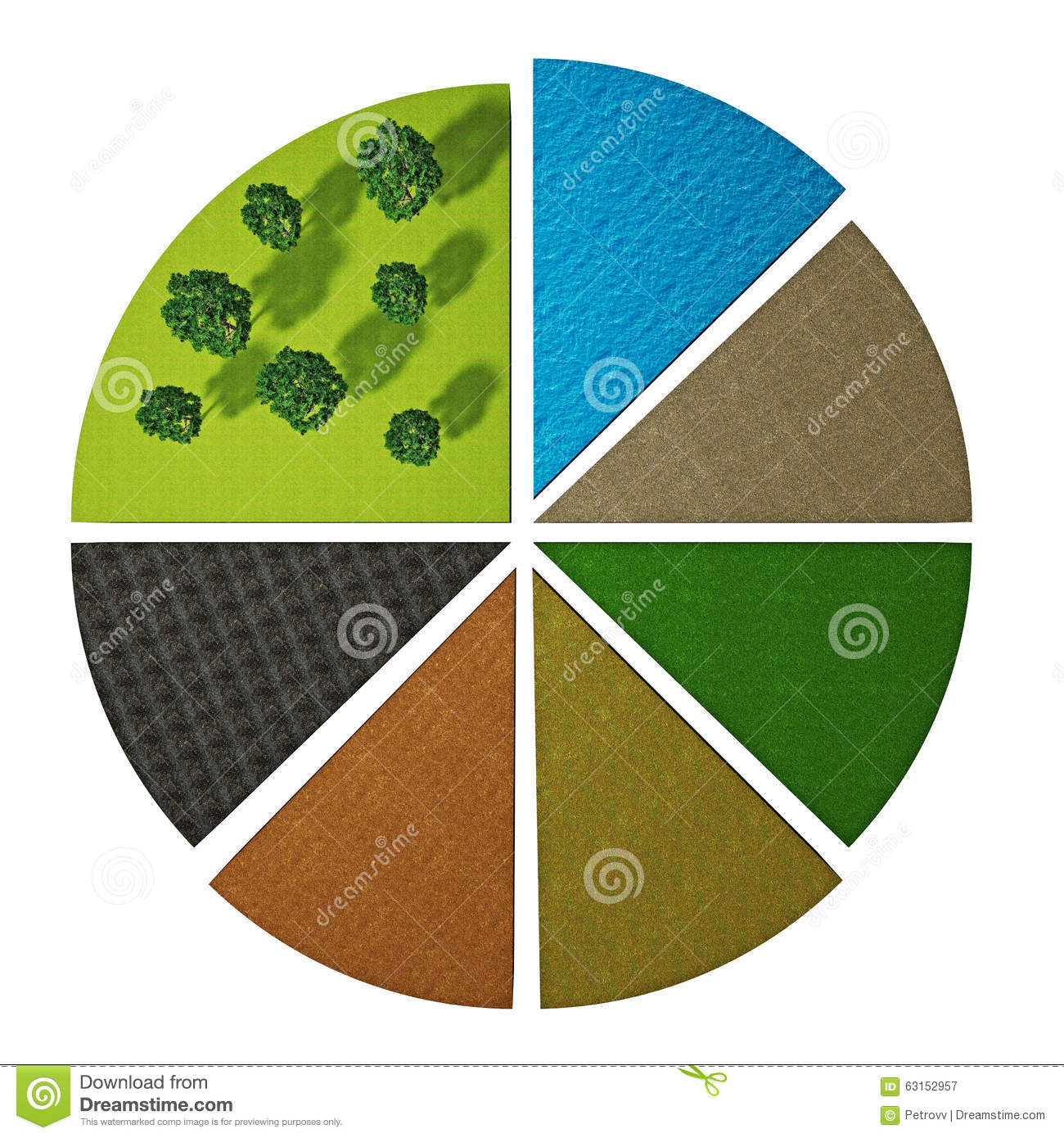 Different types of soils stock illustration image 63152957 for Why are soils different