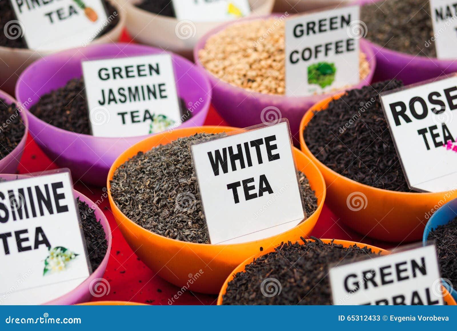 Types Of Tea In India