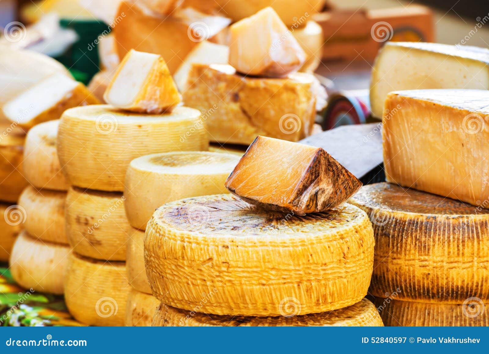 diff rentes sortes de fromage italien photo stock image. Black Bedroom Furniture Sets. Home Design Ideas