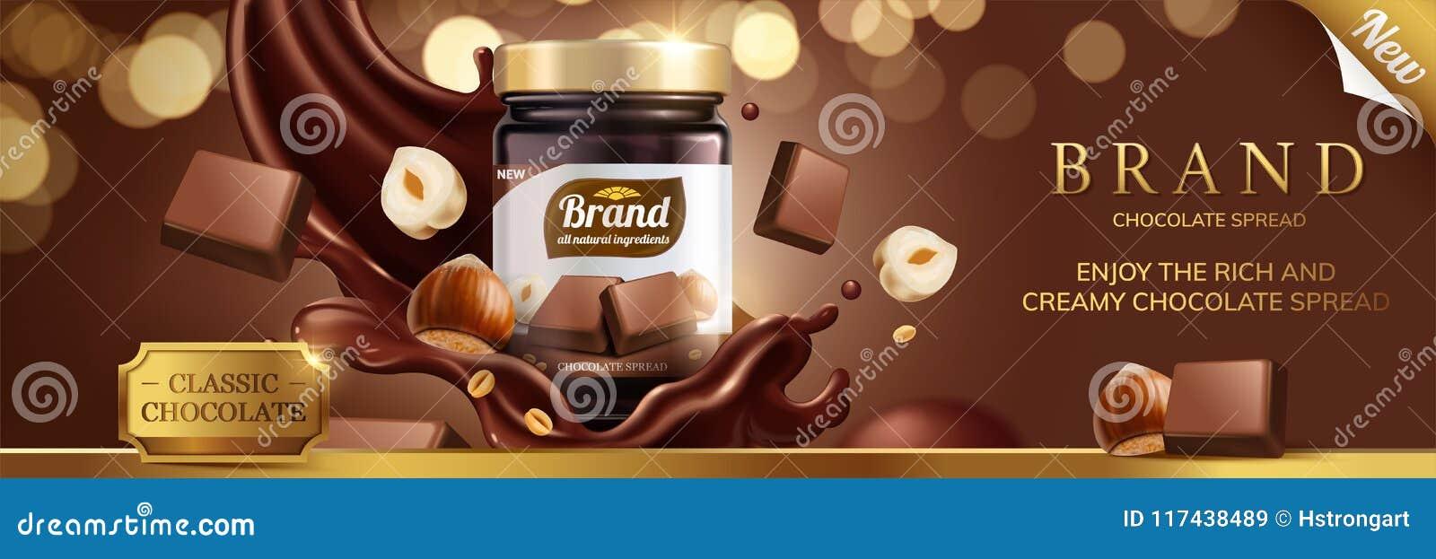Diffusion classique de chocolat