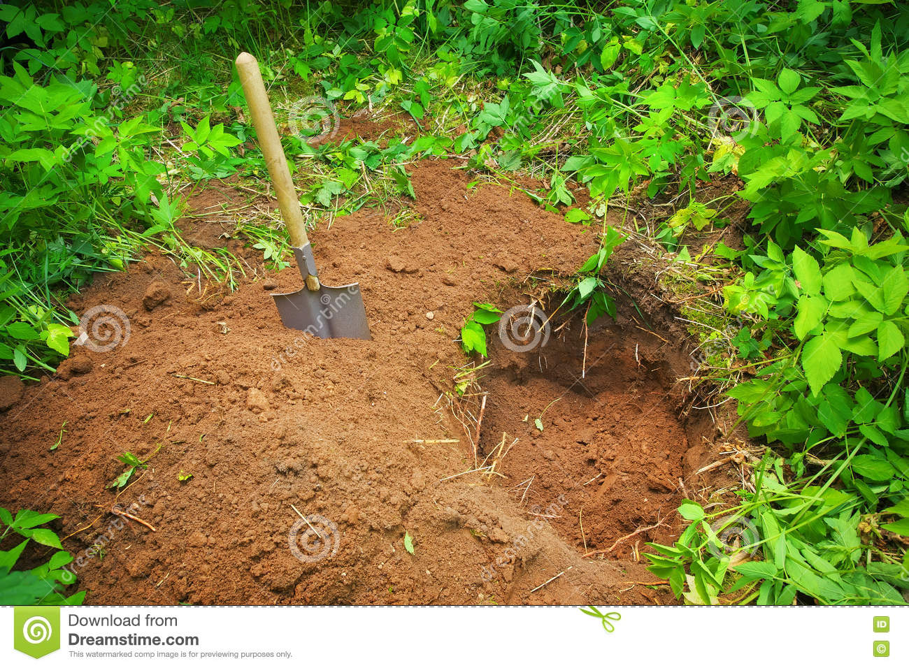 Dig hole stock photos royalty free images dreamstime for Digging ground dream meaning