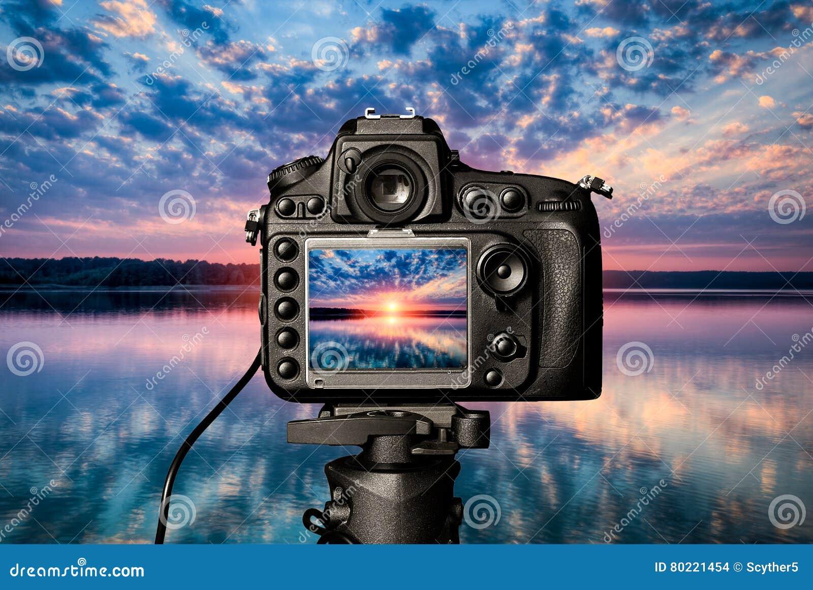 Digitaal cameraconcept