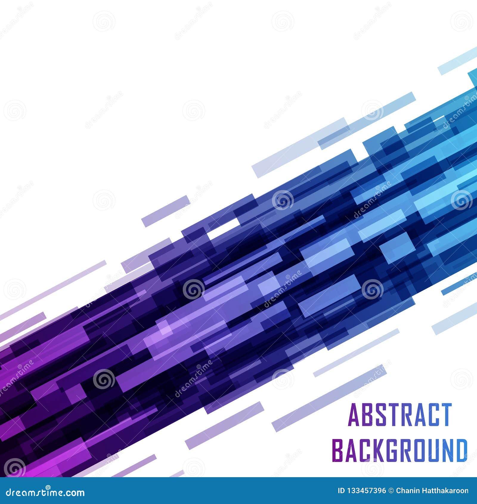Digitaal technologie ultraviolet geometrisch ontwerp, rechthoeken shap