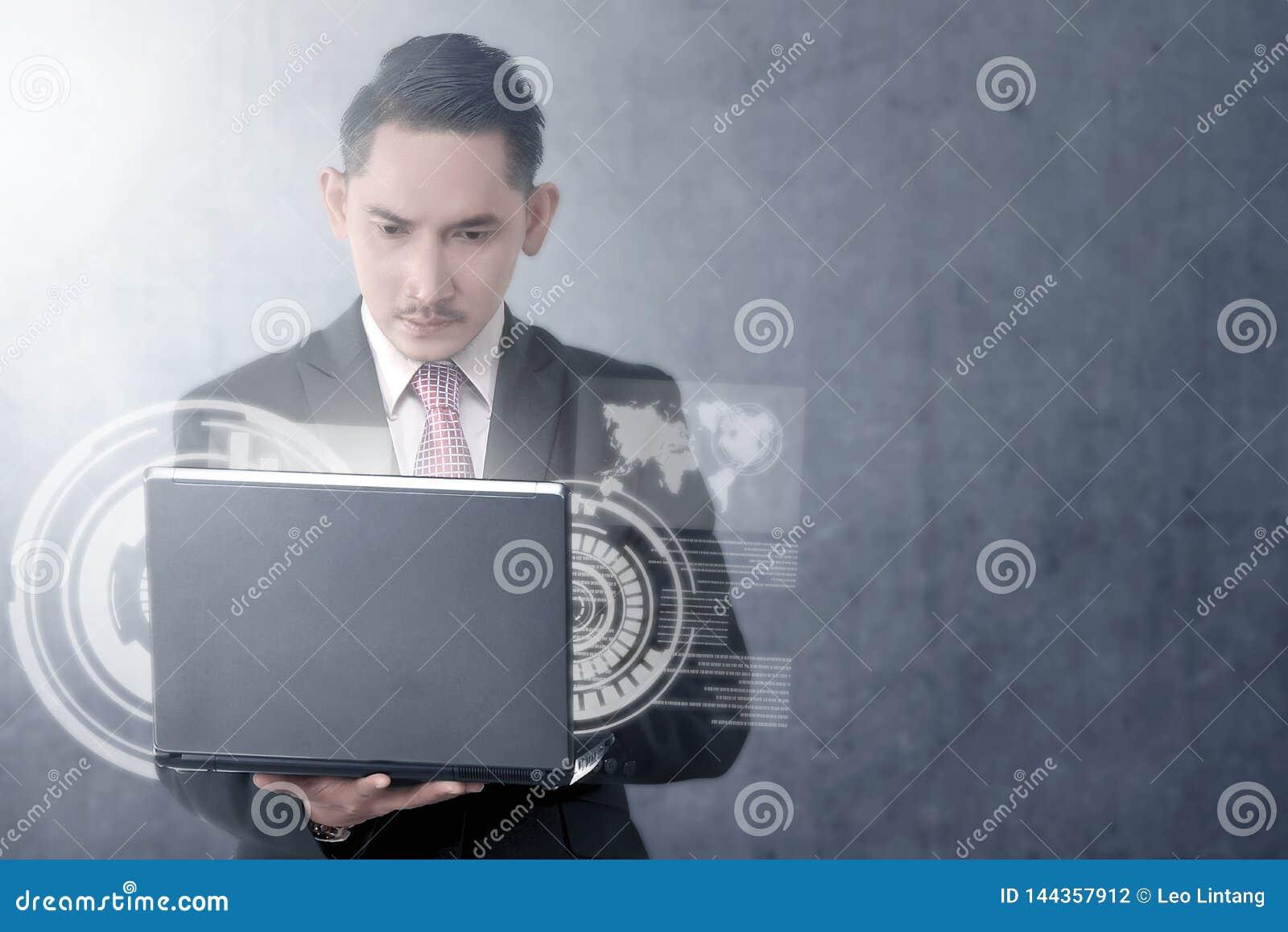 Digitaal technologieconcept