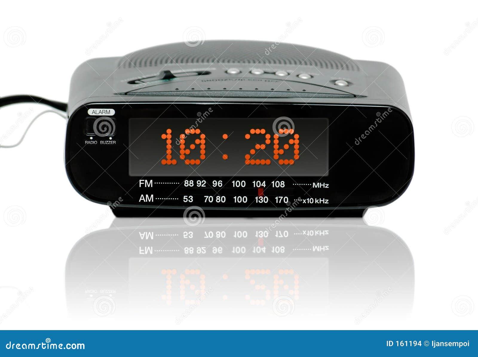 Digital alarm radio clock