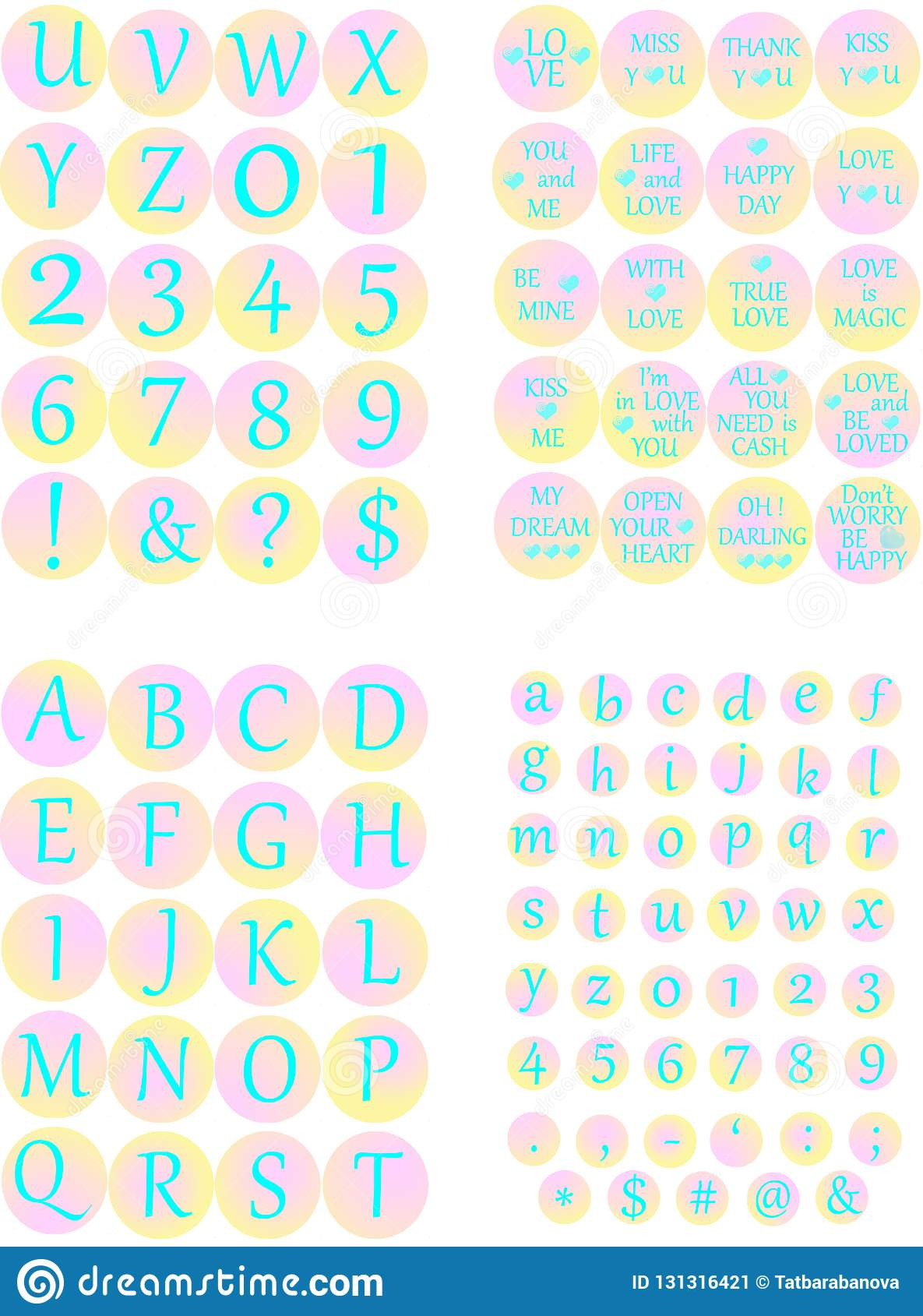 image about Printable Circles titled Electronic Alphabet Printable Circles Enjoy Phrases Glamorous