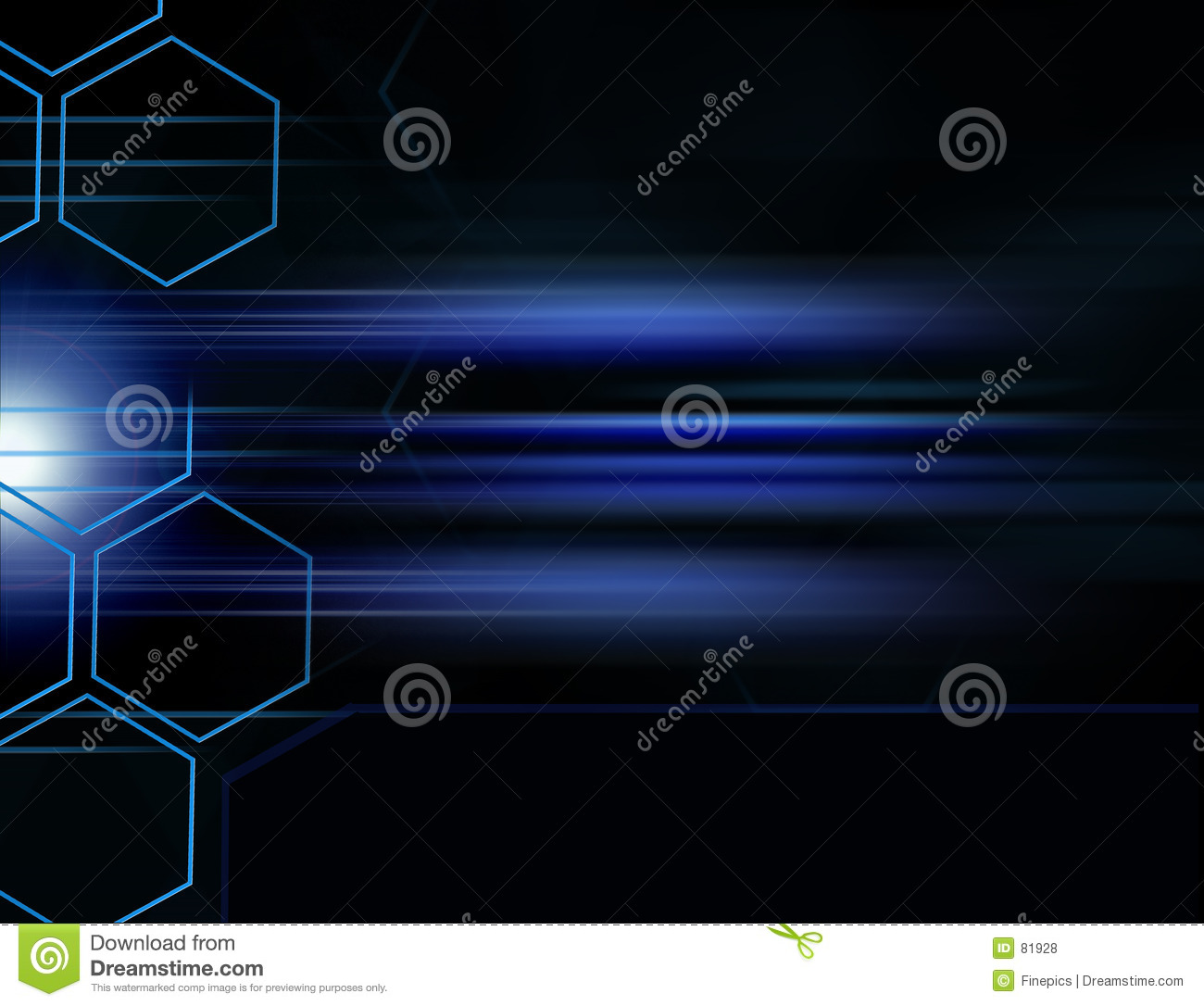 Digital Background Grid