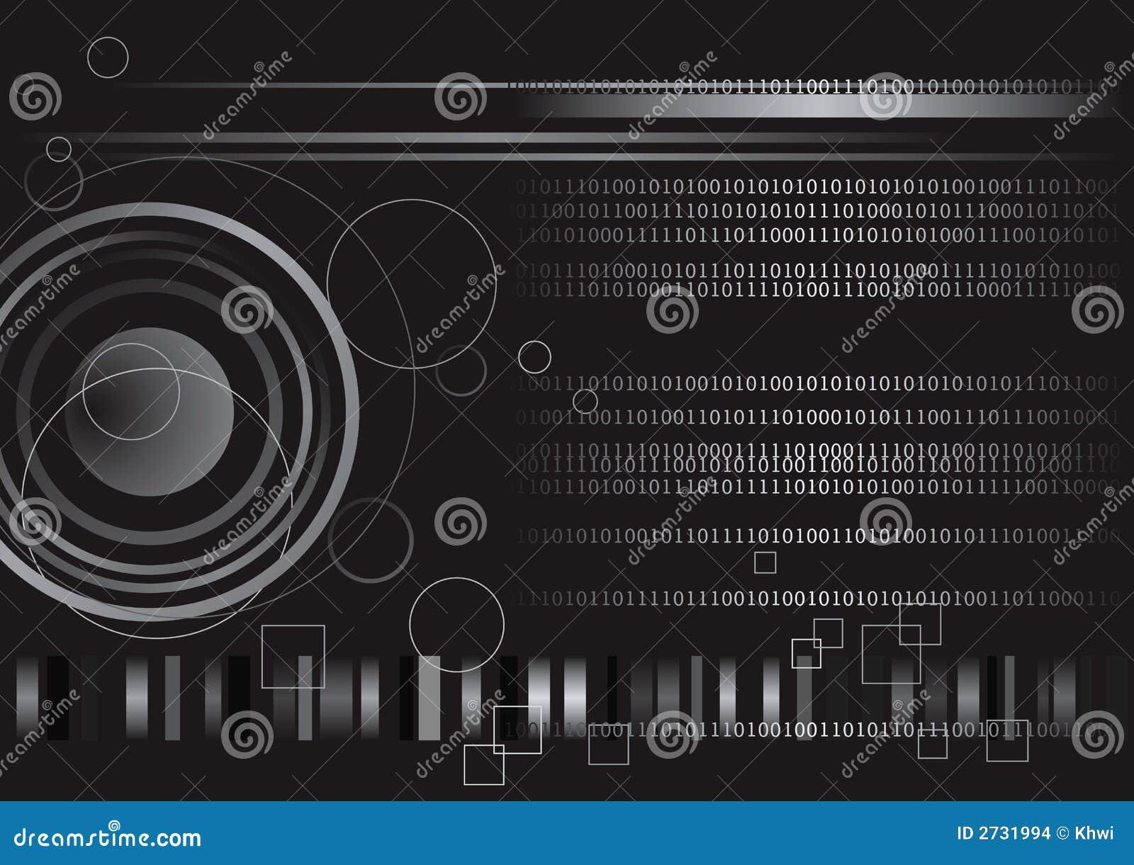 Digital Binary Code Technology Stock Vector - Image: 2731994