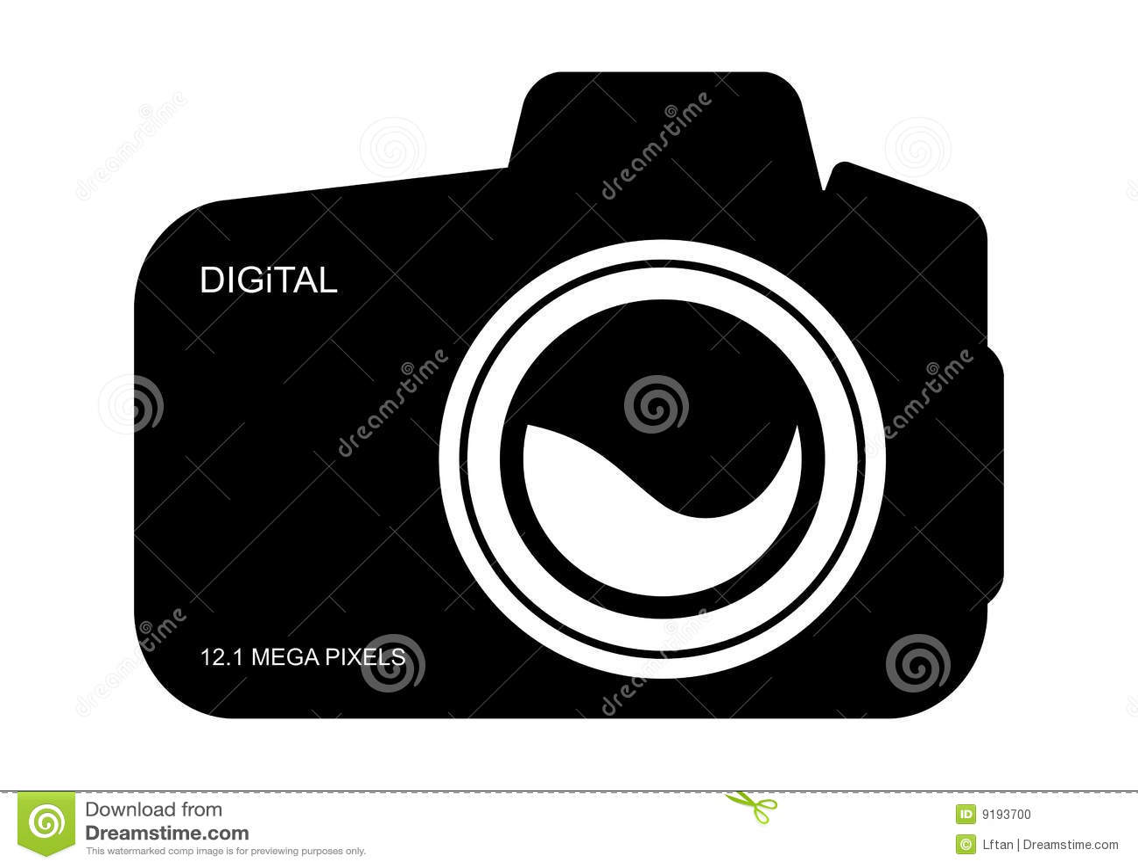 Digital Camera Icon Stock Vector Illustration Of Icon 9193700