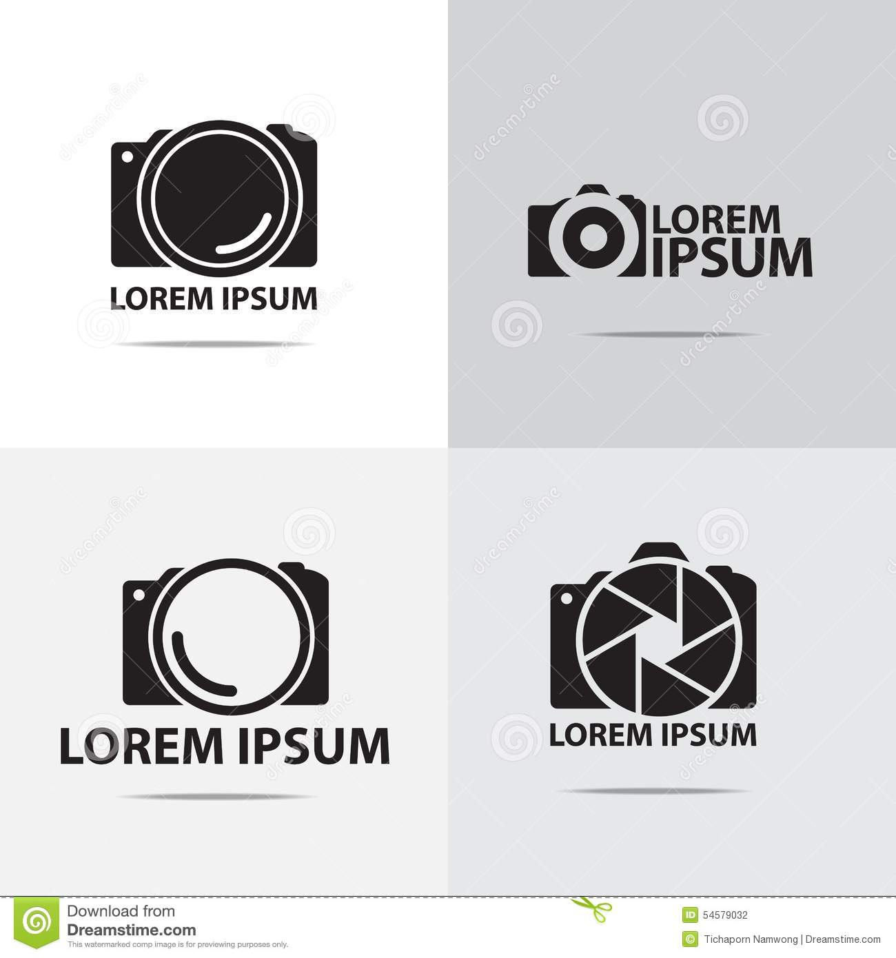 Color Cam Logo Design ~ Logo Templates on Creative Market