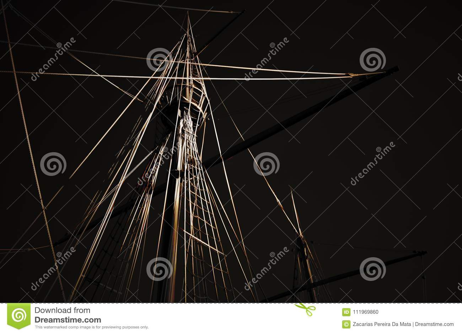 Digital caravel rigging