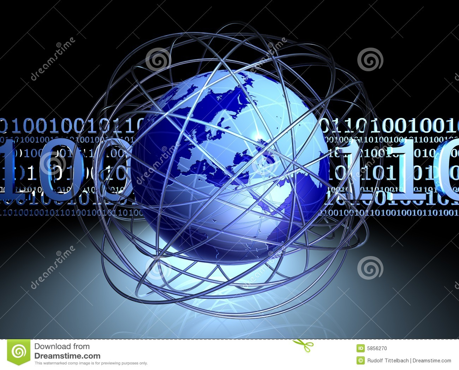 Digital chaos around globe
