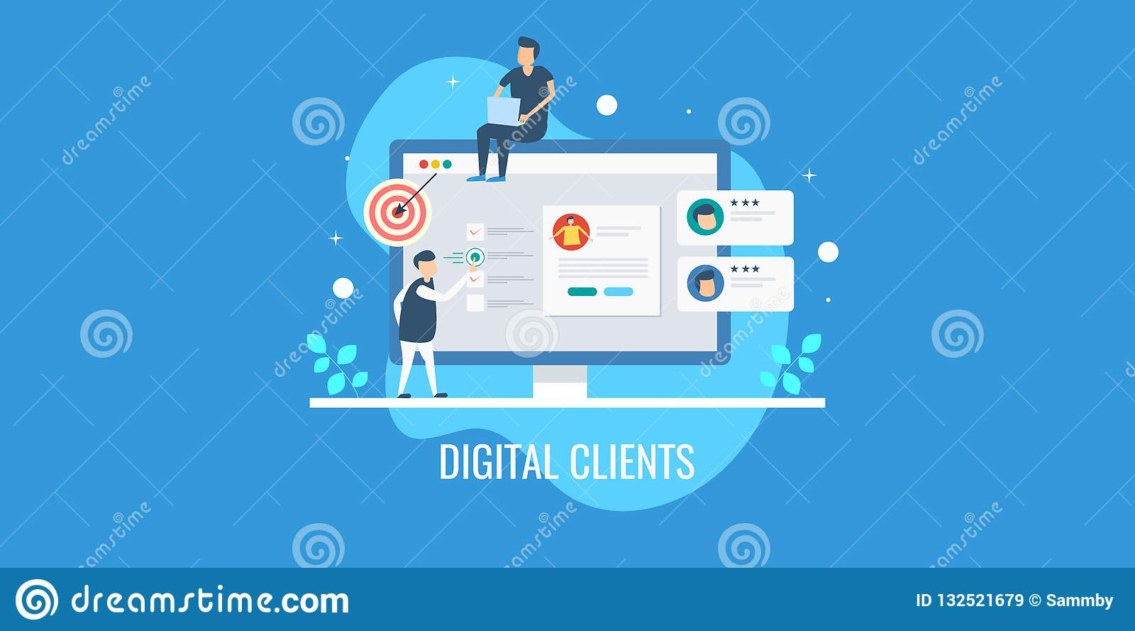 Digital che commercializza gruppo che analizza profilo di cliente, seguendo comportamento del cliente, mirante alla nuova prospet
