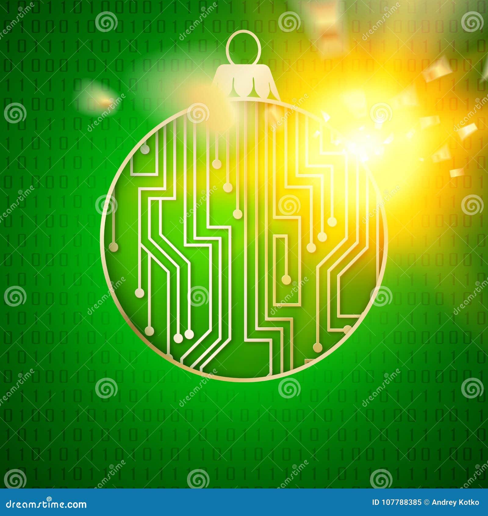 Digital christmas design. stock vector. Illustration of background ...